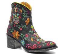 Klakzipper Stiefeletten & Boots in schwarz