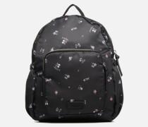 Annie Backpack Flower Rucksäcke in schwarz