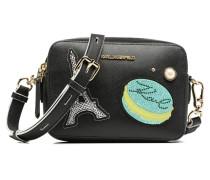 Paris Camera Bag Handtasche in schwarz
