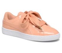 Basket Heart Patent Wn's Sneaker in orange
