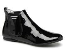 PATCHPRINT Stiefeletten & Boots in schwarz
