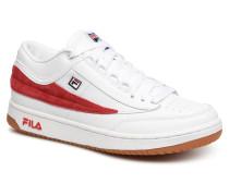 T1 mid Sneaker in weiß
