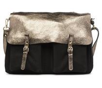 MAXI MATHS REVERSIBLE Handtasche in schwarz