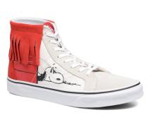 SK8Hi Moc x Peanuts Sneaker in weiß