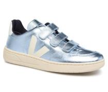 V12_Velcro Sneaker in blau
