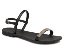 MIYA LEATHER SANDAL Sandalen in schwarz