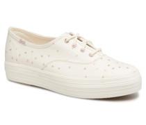 Triple Ethereal Sneaker in beige