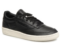 Club C 85 Hrdware Sneaker in schwarz