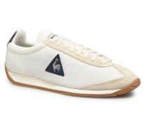 Quartz Nylon Gum Sneaker in weiß