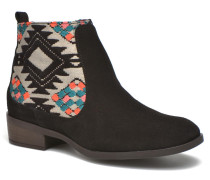 Indian boho Stiefeletten & Boots in schwarz
