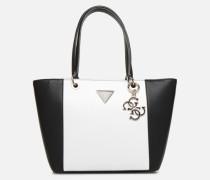 Kamryn Tote Handtasche in weiß