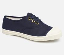 Tennis Golden Eylet Sneaker in blau