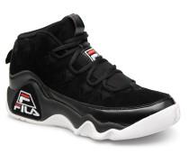 95 Sneaker in schwarz