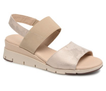 Down Shift Sandalen in beige