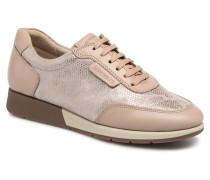 Zip Off Sneaker in beige
