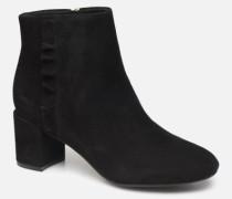 TM Oaklee Ruffle B C Stiefeletten & Boots in schwarz