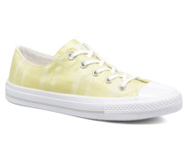Chuck Taylor All Star Gemma Ox Engineered Lace Sneaker in gelb