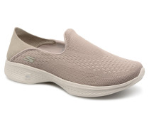 Go Walk 4Convertible Sneaker in beige