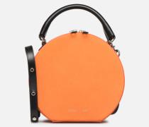 CIRCLE BAG CROSSBODY NUBUCK Handtasche in orange