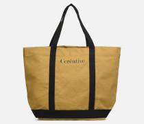 Cabas M Créative Handtasche in beige