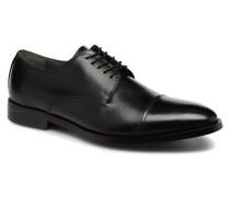Lewer Schnürschuhe in schwarz