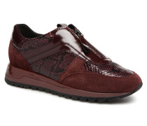 D TABELYA A D84AQA Sneaker in weinrot