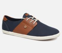 Cypress Cotton Leather Sneaker in blau