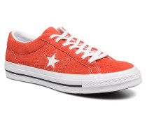 One Star OG Suede Ox Sneaker in rot