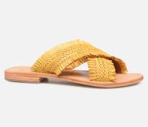 UrbAfrican Plagettes #3 Clogs & Pantoletten in gelb