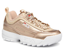 Disruptor MM Low W Sneaker in goldinbronze