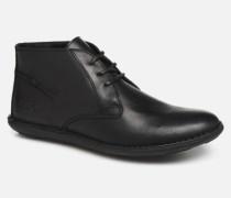 SWIBO Schnürschuhe in schwarz