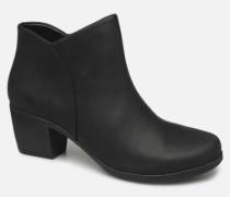 Un Lindel Zip Stiefeletten & Boots in schwarz
