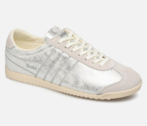 Bullet Lustre Shimmer Sneaker in silber