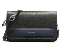 Porté croisé Coquette TPM 3 soufflets glitter anti RFID Handtasche in schwarz