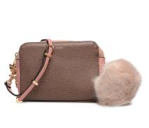 DAROMANI Handtasche in braun