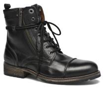 Melting W. Zipper Stiefeletten & Boots in schwarz