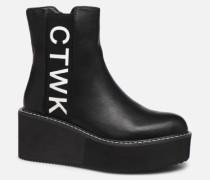YUKO Stiefeletten & Boots in schwarz