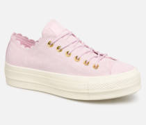 Chuck Taylor All Star Lift Frilly Thrills Ox Sneaker in rosa