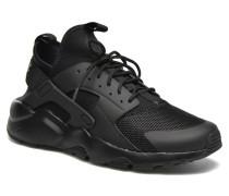 Air Huarache Run Ultra Sneaker in schwarz
