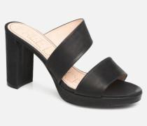 Elisa 4 Asymetric Mule Clogs & Pantoletten in schwarz