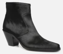 Jane 7 Zip Boot Stiefeletten & Boots in schwarz