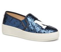 NYC Espadrille Sneaker in blau