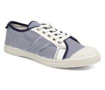 Fines Rayures Sneaker in blau