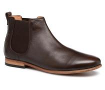 Form Chelsea Stiefeletten & Boots in braun