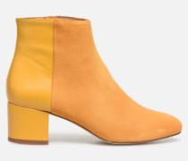 Soft Folk Boots #14 Stiefeletten & in gelb