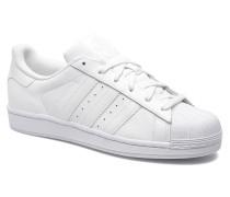 Superstar Foundation Sneaker in weiß