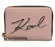 KinSignature Zippé Rose Poudré Portemonnaies & Clutches für Taschen in rosa
