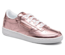 Club C 85 S Shine Sneaker in rosa