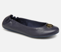 Flexible ballerina leather Ballerinas in blau