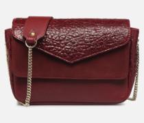 MINI LECON Handtasche in weinrot